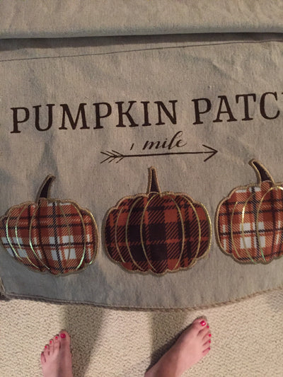 Pumpkin patch runner - Delight In Designs
