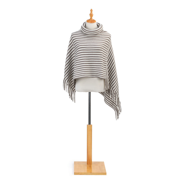 Cowl Neck Poncho-Multiple Color & Styles Available - Delight In Designs