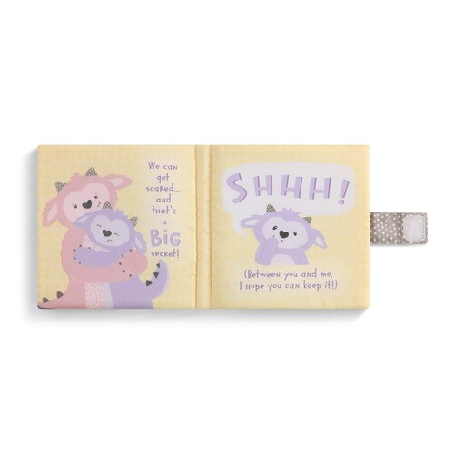 Be Brave Little Monster Soft Book - Delight In Designs