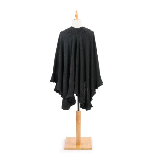 Ruffled Shawl-Multiple Color & Styles Available - Delight In Designs