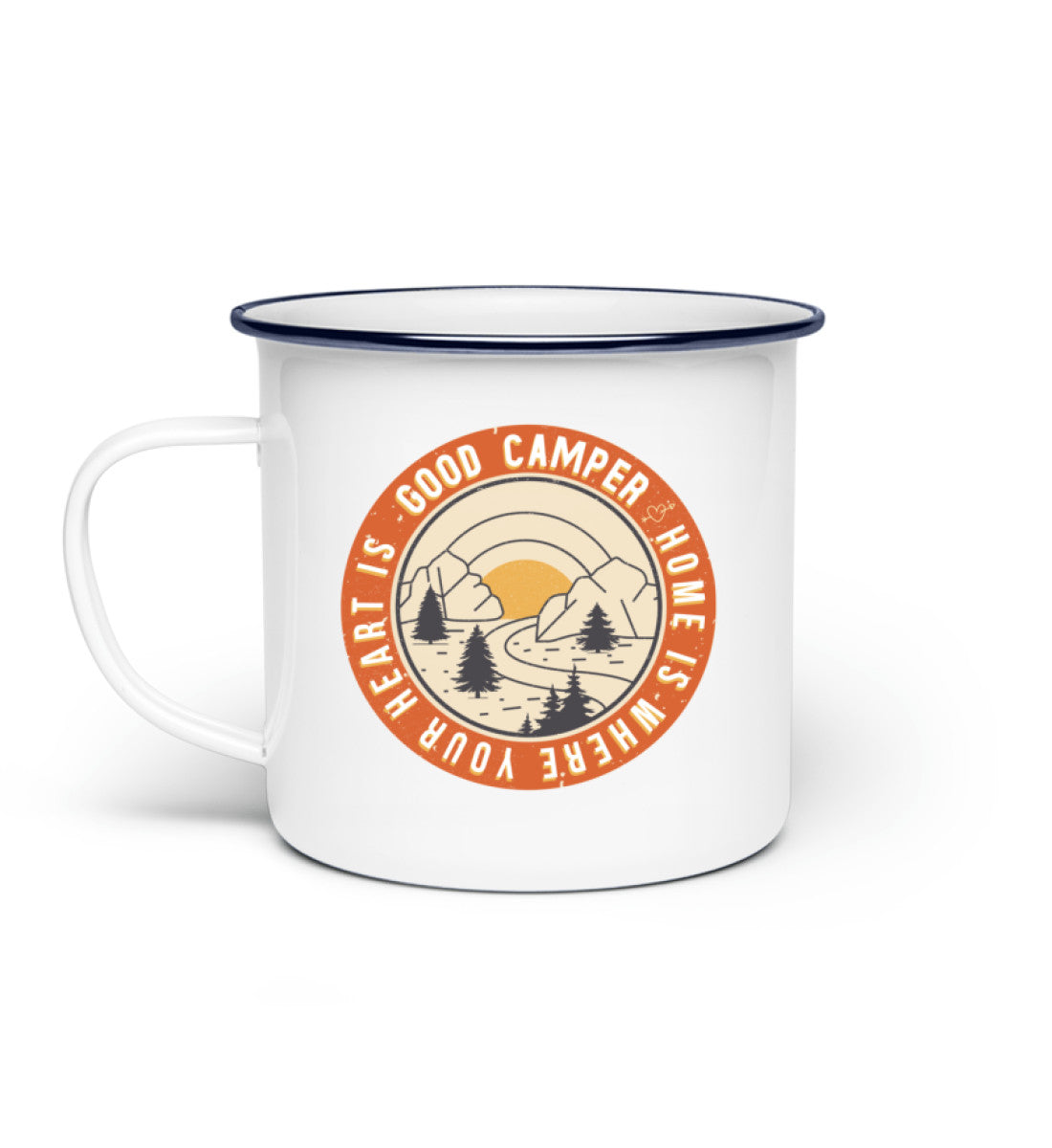 Good Camper Enamel Mug