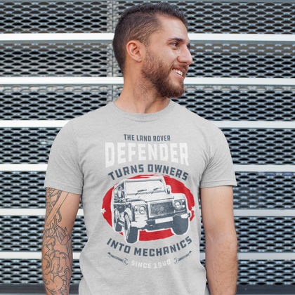 The Defender Mechanics Unisex T-Shirt