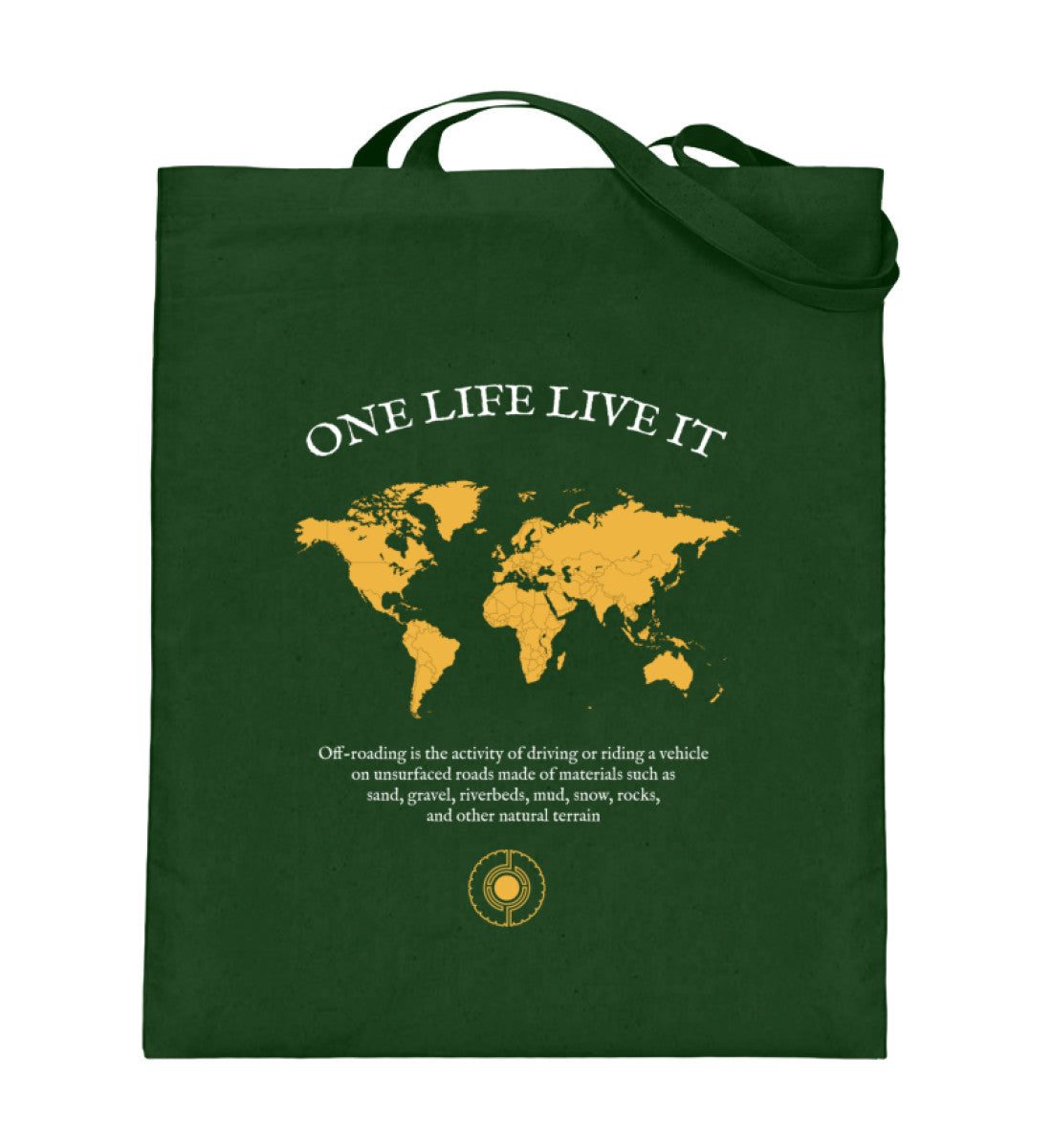 One Life Live It Bag  - cotton bag