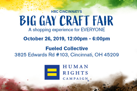 Big Gay Craft Fair info graphic
