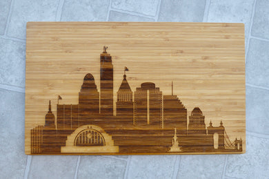City Skyline (LARGE- HORIZONTAL) Customized