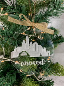 Skyline Ornament