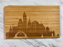 Load image into Gallery viewer, City Skyline Cutting Board - SMALL