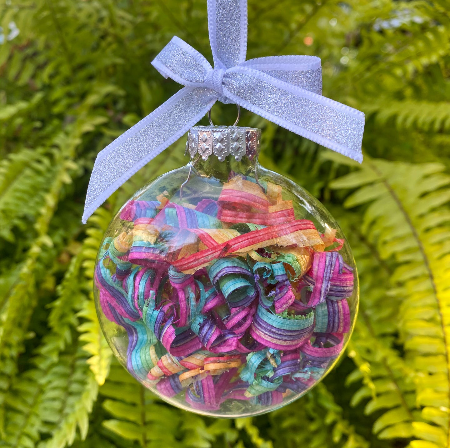 Rainbow Disc Ornaments