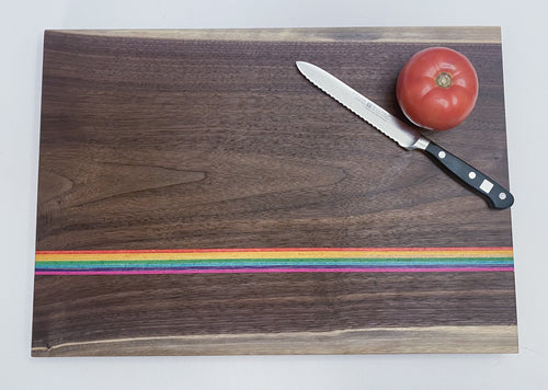 American Walnut Rainbow Board #1