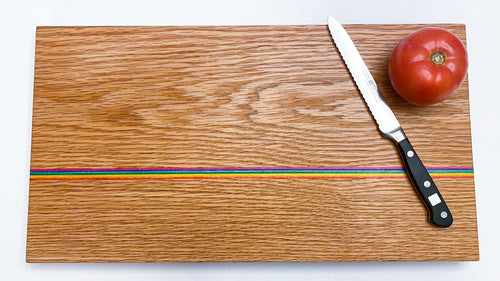 Oak Rainbow Boards