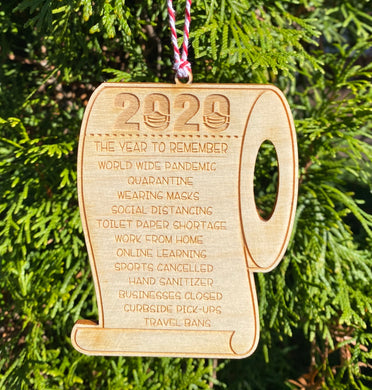 2020: The Year to Remember (Ornament)
