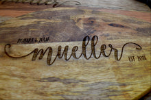 Load image into Gallery viewer, Personalized Engraved Cutting Board Set of 2