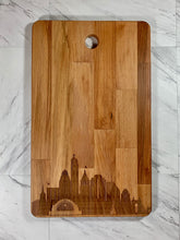 Load image into Gallery viewer, City Skyline Cutting Board - LARGE