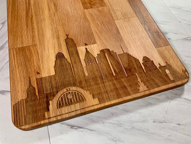 City Skyline (LARGE - VERTICAL) Customized