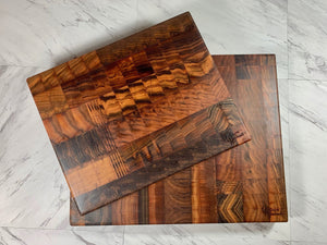 End Grain Cutting Board - Curupay Wood