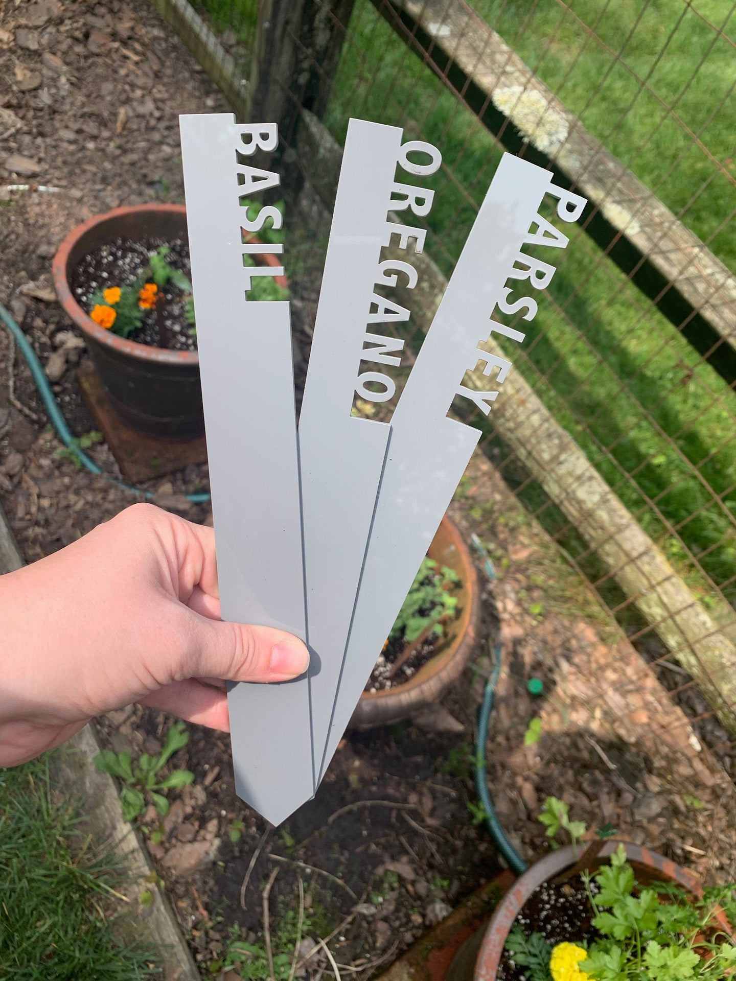 Flower Plant Markers - SMALL