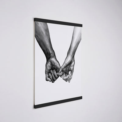 Black® Magnetic Frame - Nordic Peace