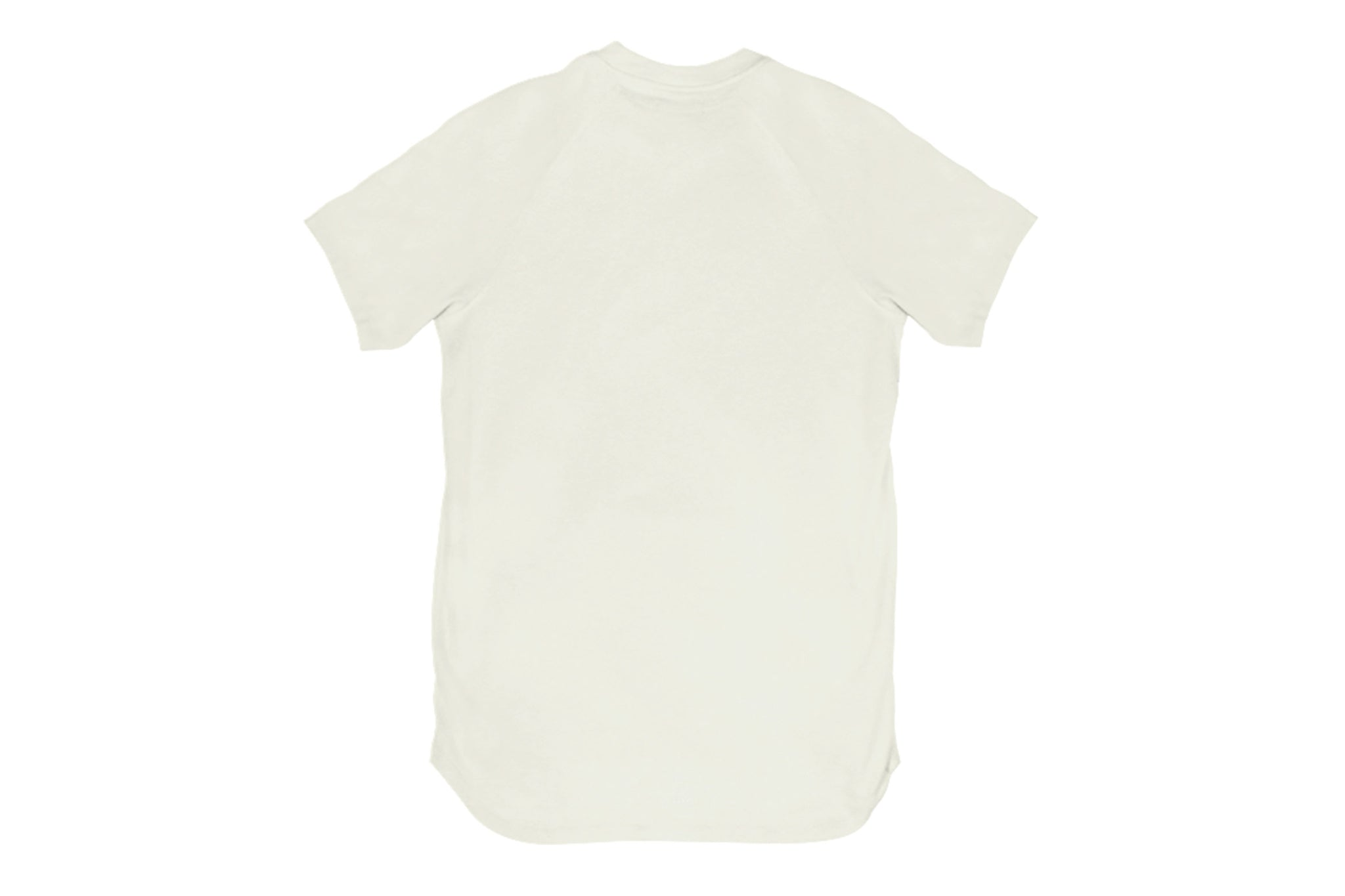 Warren Peace - Teller V-Neck T-Shirt in Fog Back - Designer Streetwear
