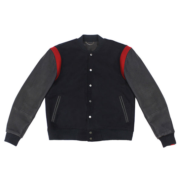 Warren Peace - Havoc Navy Varsity Jacket Cover - Designer Streetwear