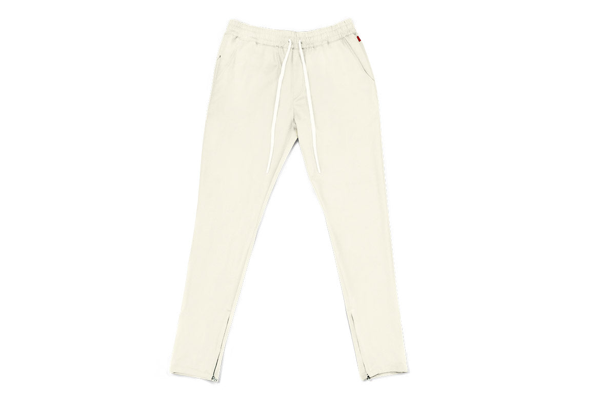 Warren Peace - Hendrix Trousers in Bone Front - Designer Streetwear
