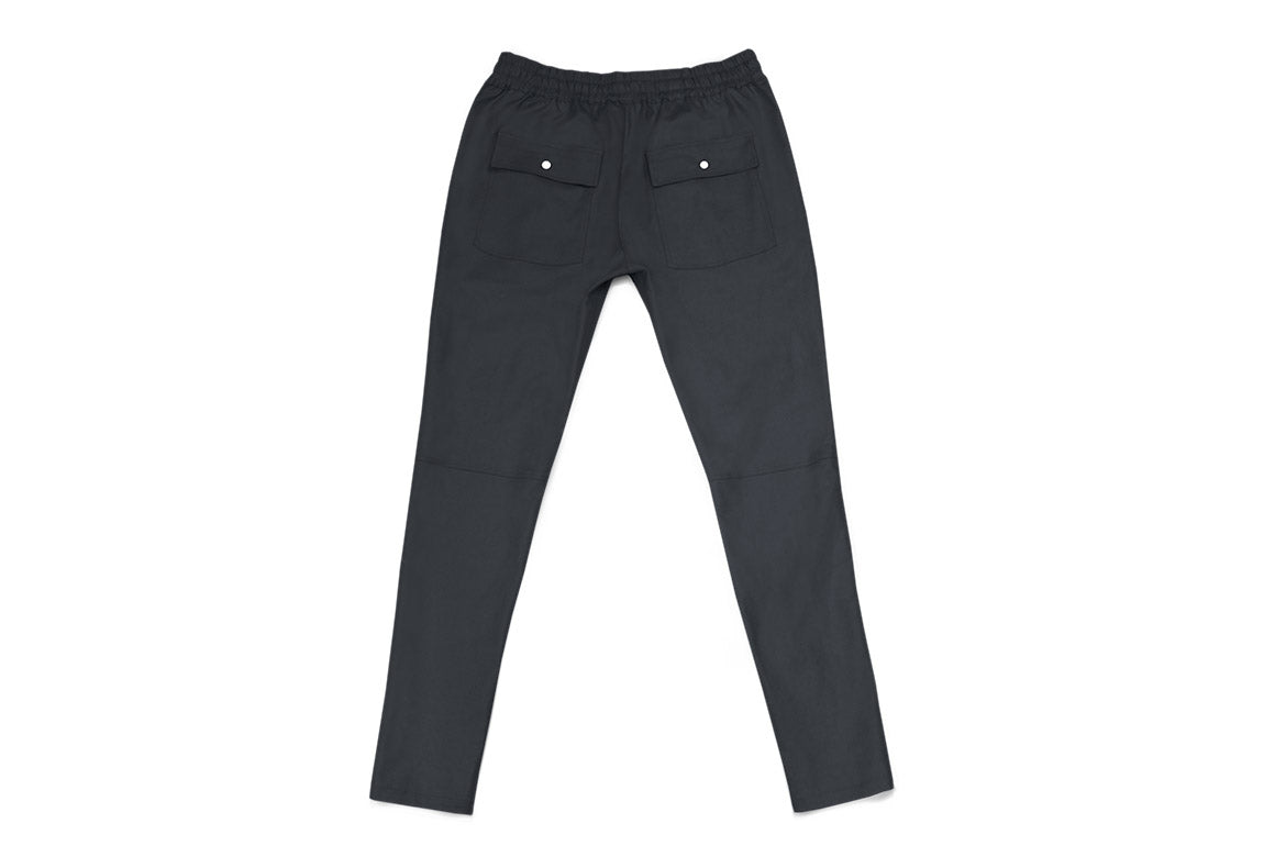 Warren Peace - Hendrix Trousers in Navy Back - Designer Streetwear