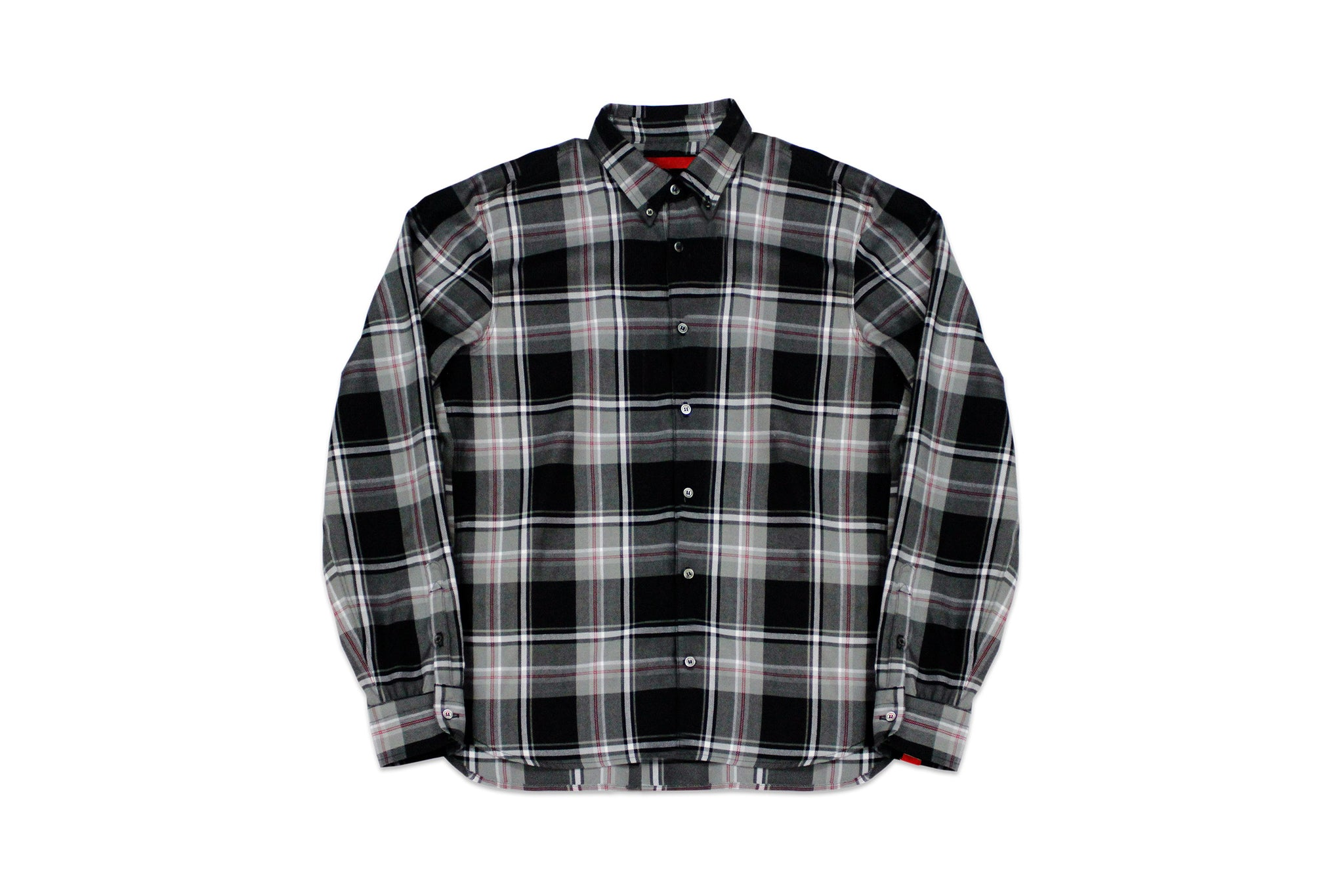 Designer Streetwear | Knox Plaid Button Down Front | Warren Peace