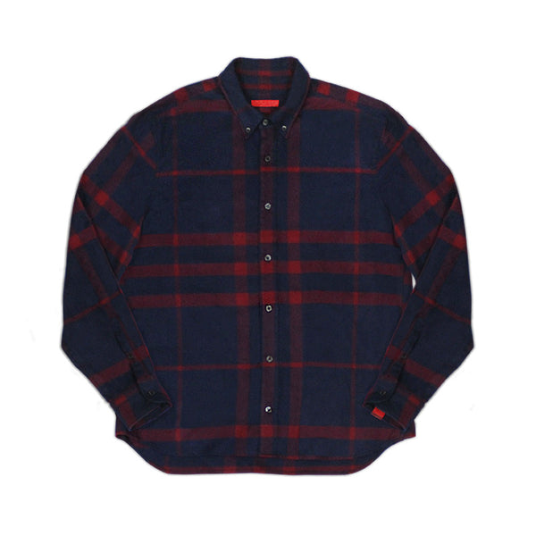 Warren Peace - Knox Plaid Button Down Cover - Designer Streetwear
