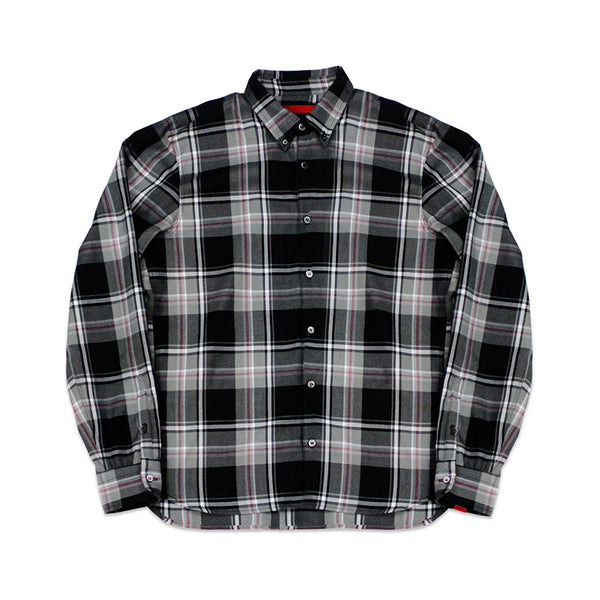 Designer Streetwear | Knox Plaid Button Down Cover | Warren Peace