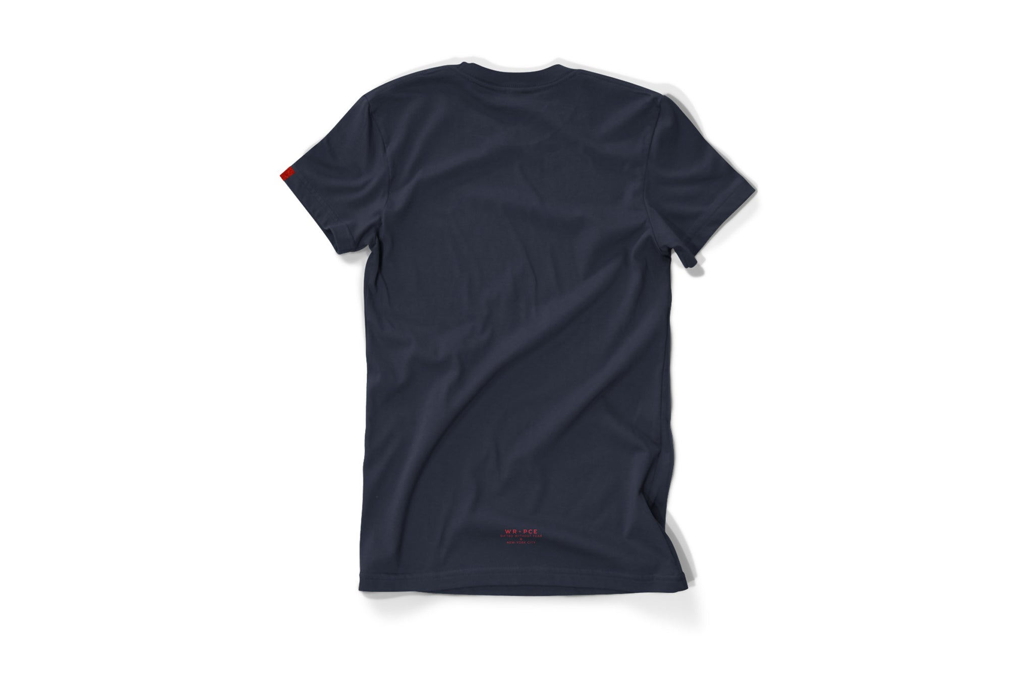 Warren Peace - Peacemaker Graphic T-Shirt in Navy Back - Designer Streetwear