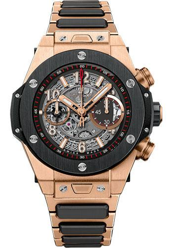 Hublot Big Bang Unico King Gold Ceramic Watch 411.OM.1180.OM