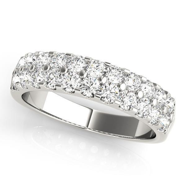 diamond copy illusion ring set engagement pave