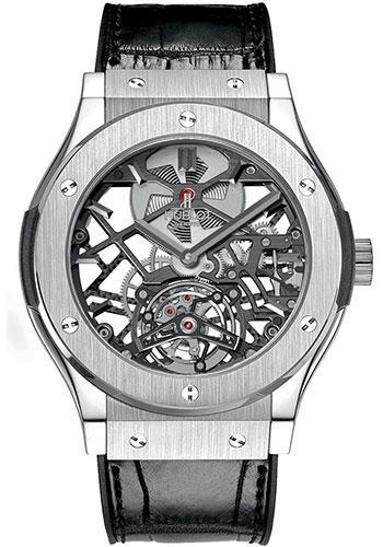 Hublot Classic Fusion 45mm Skeleton Tourbillon Watch  505.NX.0170.LR