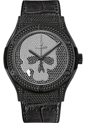Hublot Classic Fusion 45mm Watch 511.ND.9100.LR.1700.SKULL