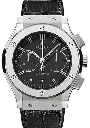 Hublot Classic Fusion 45mm Chronograph Titanium Watch 521.NX.1170.LR