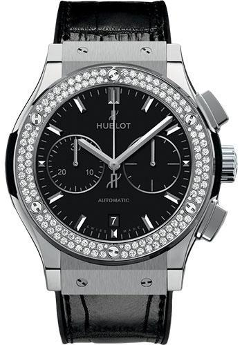 Hublot Classic Fusion 45mm Chronograph Titanium Watch 521.NX.1171.LR