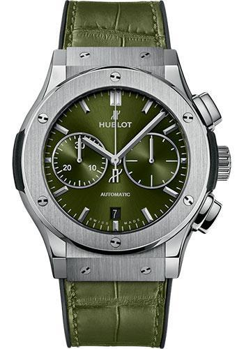Hublot Classic Fusion 45mm Chronograph Titanium Watch 521.NX.8970.LR