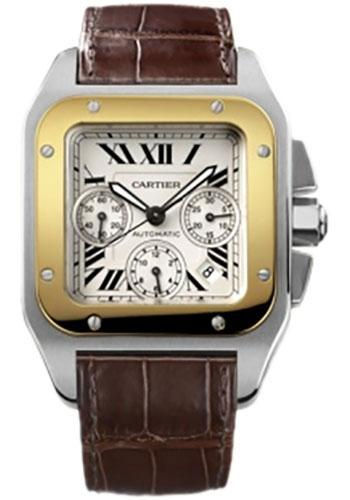 Cartier Watch Santos 100 Extra Large