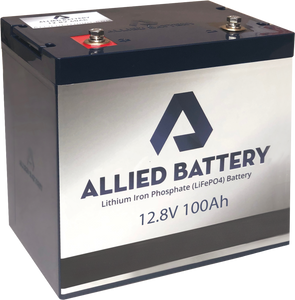 Allied Lithium 12V Battery (100 Amp Hours)
