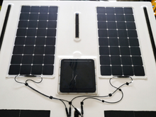 Load image into Gallery viewer, Flexi Solar Panels Installed