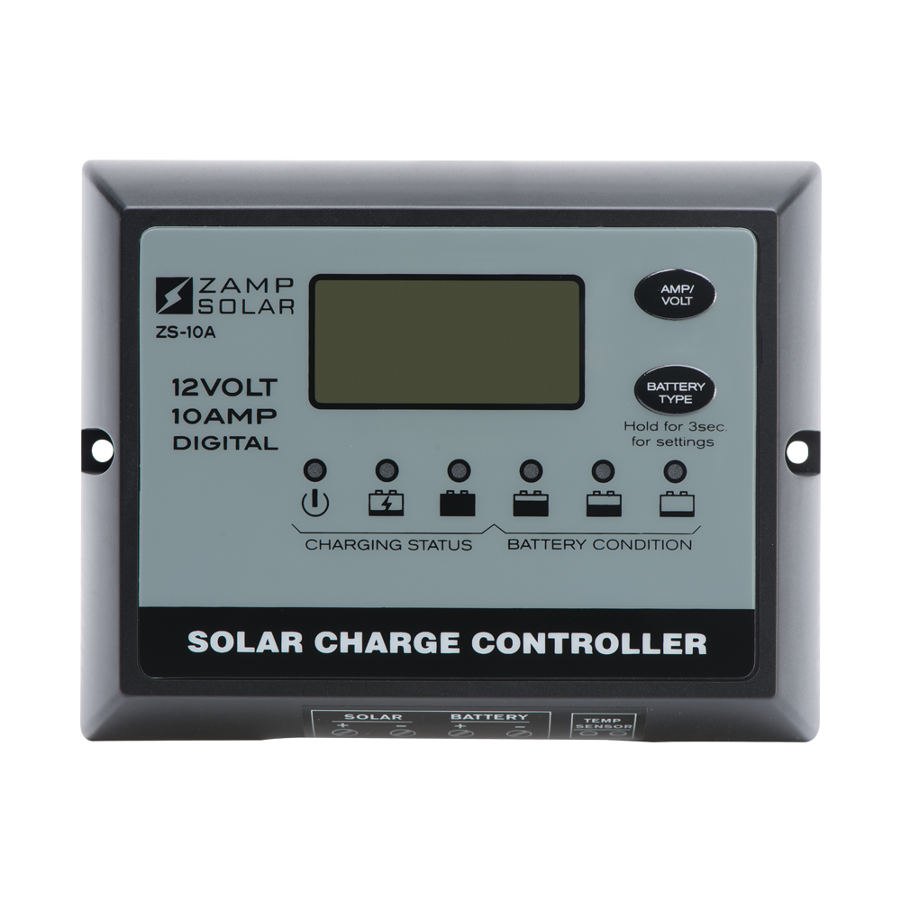 Zamp Solar 10 Amp Solar Charge Controller