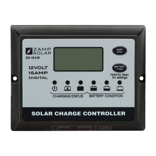 Zamp Solar 15 Amp Solar Charge Controller