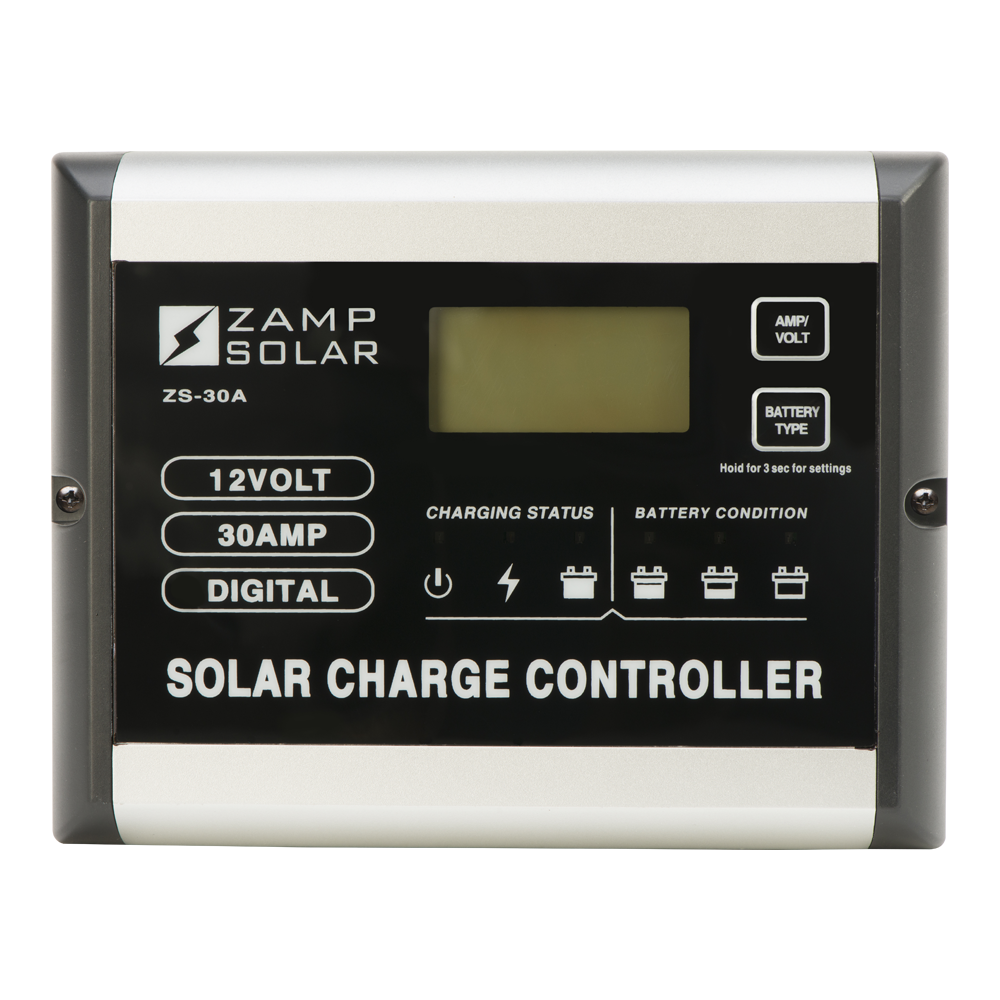 Zamp Solar 30 Amp Solar Charge Controller