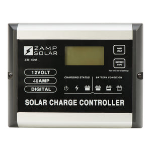 Zamp Solar 40 Amp Solar Charge Controller (Up to 680 Watt Input)