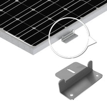 Load image into Gallery viewer, Universal Solar Panel Mounting Z-Bracket With Hardware