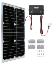 Load image into Gallery viewer, UTV Side By Side Solar Panel Battery Maintainer Charging Kit
