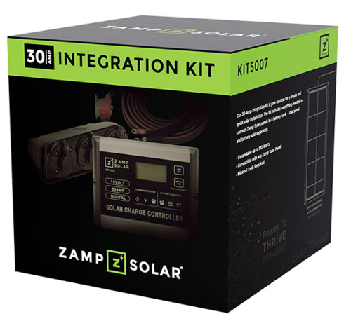 Zamp Solar 30 Amp Controller Roof Cap and Integration Kit