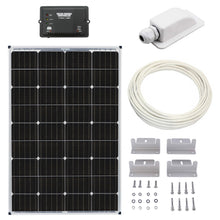 Load image into Gallery viewer, Basic RV and Van Solar Battery Charging Kit Builder