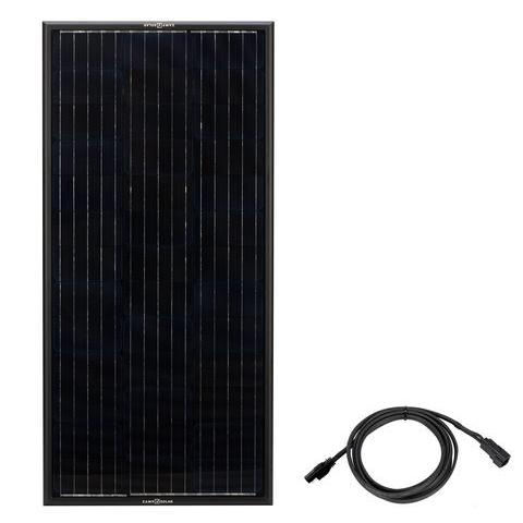 Zamp Solar Obsidian 100 Watt Panel - Made In USA (B Grade)