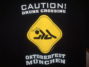 Caution Drunk Crossing