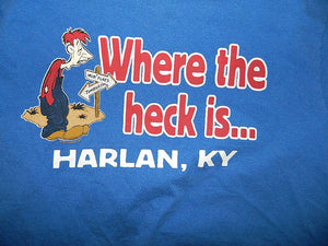 Where the heck is Harlan, KY